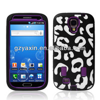Fashional phone case maker for samsung galaxy s4 with fancy package