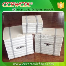 CCEWOOL 1260 ceramic fiber block with anchor