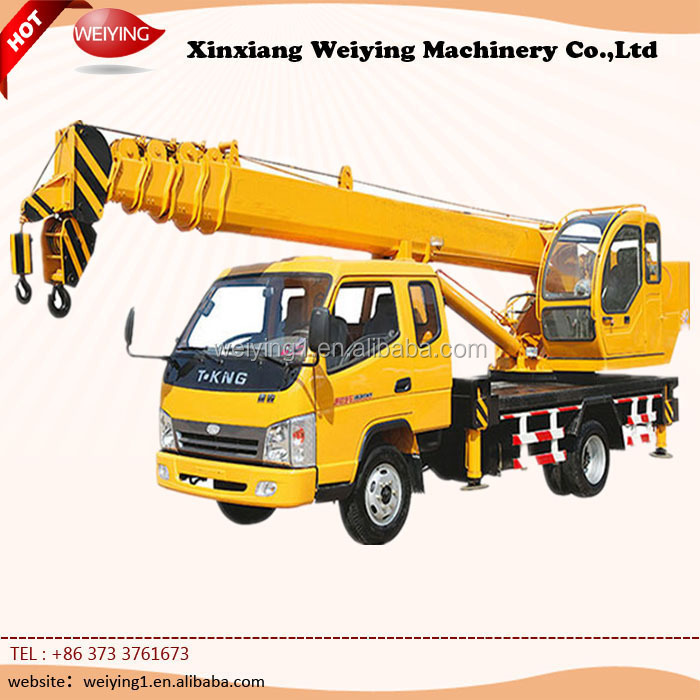 16 Ton Dump Truck With Crane With Good Condition