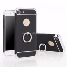 3in1 detachable golden finger ring holder hard PC cell phone case for iPhone 7 4.7""