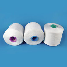 100% Chinese export manufacturers polyester yarn 20s/2