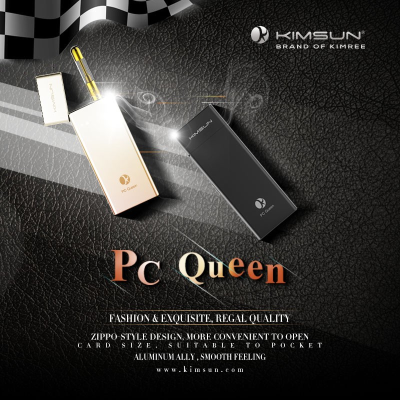 KIMREE PC Queen Vape Pen Rechargeable E-cigarette with PCC mod Case Promotional Price