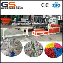twin screw plastic granulator for pp pe recycling