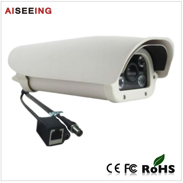 CCTV Car License Plate Recognition H.264 poe video digital Camera