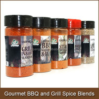 Gourmet BBQ and Grill Spice Seasoning Blends