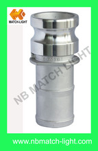 China Factory Direct Sand Cast Stainless Steel SS304 SS316 Kamlock Coupling