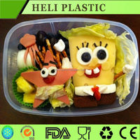 Disposable compartment lunch boxes deli Takeout Container 1000ml