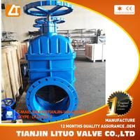 qualified standard oil pipe gate valve DI/CI Tianjin supply
