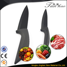 High Quality ABS Handle 6 Inch Black Blade Ceramic Chef'S Knife