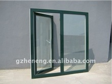 High quality PVC casement Window with tempered glass and pvc profile frame