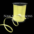 Lemon color Curling Ribbon for balloon use