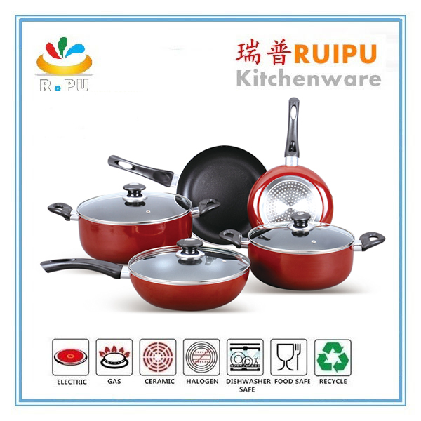 turkish prima well equipped kitchen happy baron ceramic coating cookware /look cookware