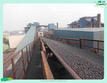 Polyester Cotton Rubber Conveyor Belting with Small Elongation and Good Adhesion ,used in Mining,Steel plants