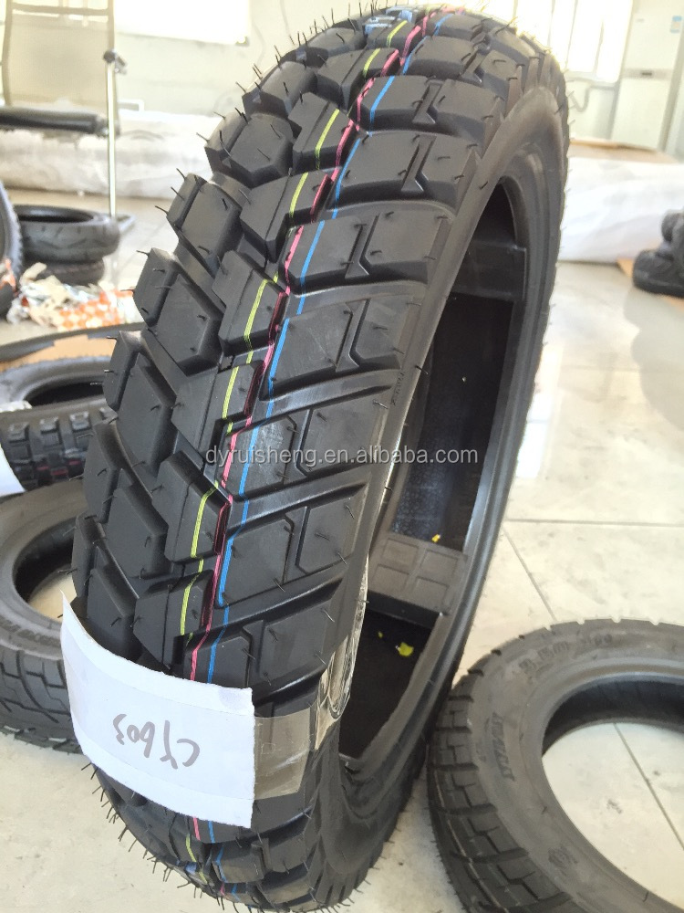 High quality motorcycle tyre 120/80-17 with high natural rubber rate