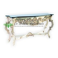 Console Table - Racoco Console Table Granite Top
