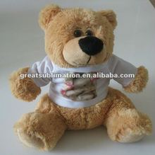 Cuddle Bears with a poly T-shirt for sublimation