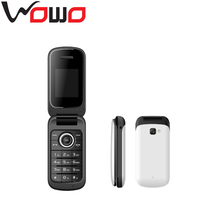 oem/odm cheap 2g mobile phone flip phone with dual sim large screen unlocked X19