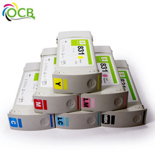 Ocbestjet Original recycle Ink Cartridge 831 For Hp 310 330 360 printer 775ml with latex ink