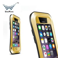 For iPhone 6 Case, Newest Waterproof Snow Proof Armor Aluminum Gorilla Glass Military Heavy Duty Protector Case for iPhone 6