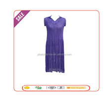 2015 latest simple style pleated women convertible chiffon birdesmaid dress