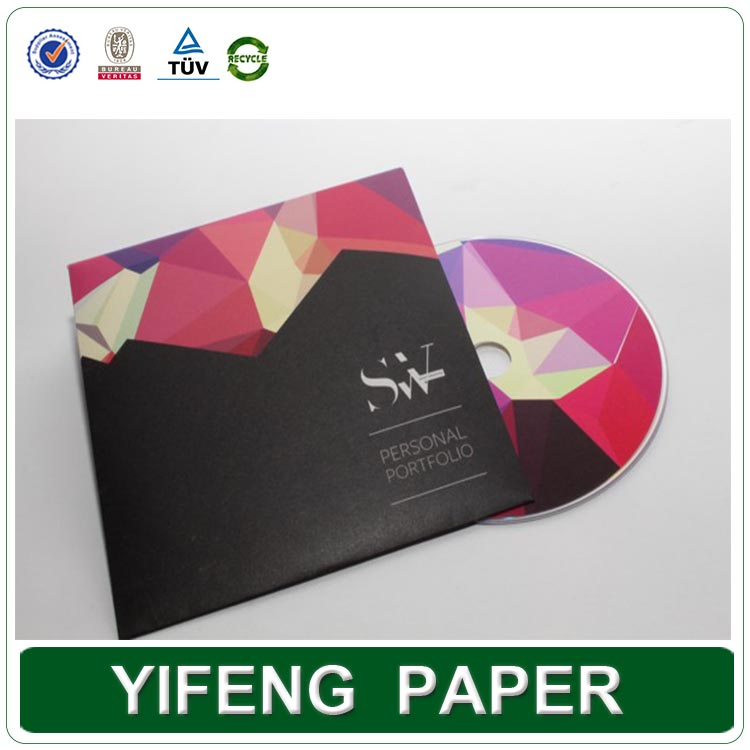Luxury decorative custom handmade paper DVD box set packaging wholesale