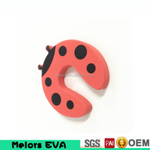 Melors High quality Baby Safety EVA Sliding Door Stopper/Lock Funny Animal Shapes Door Finger Guard