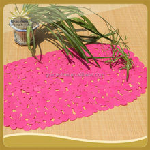 PVC BATH MAT ANTI SLIP SUCKER PAD