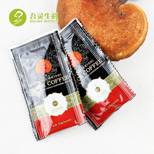 Slim function instant black coffee with ganoderma extract powder