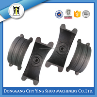 cast iron saddle pipe clamp for steel pipe,PVC and PE pipe