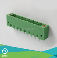 Top One Manufacture pcb with UL TUV UTL MB2.5/HF 5.0(5.08) PCB Male/Female Terminal Block Screw