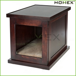 Durable Wooden Dog Cage Pet Cage Dog Crate Homex_BSCI Factory