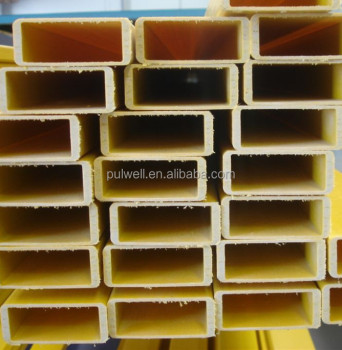 High strength pultruded FRP, FRP square tube, FRP rectangular tube
