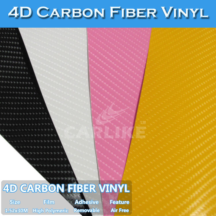 4D Carbon Fiber Sticker Equalizer EL Car Sticker