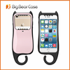 2017 Best selling korean style silicone cat phone case for iphone