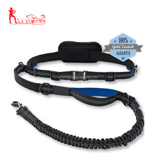 Pet supplies 2017 hands free dog leash padded dog running leash