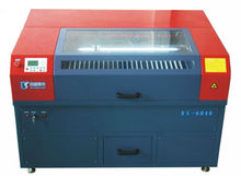 Guangzhou Baisheng Small size good quality laser cutting engraving machine BS6040 best price for sale