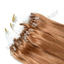 Soft quality 100% virgin Brazilian human hair, Silky Straight Superior Quality Double Drawn Micro Braid Synthetic Hair