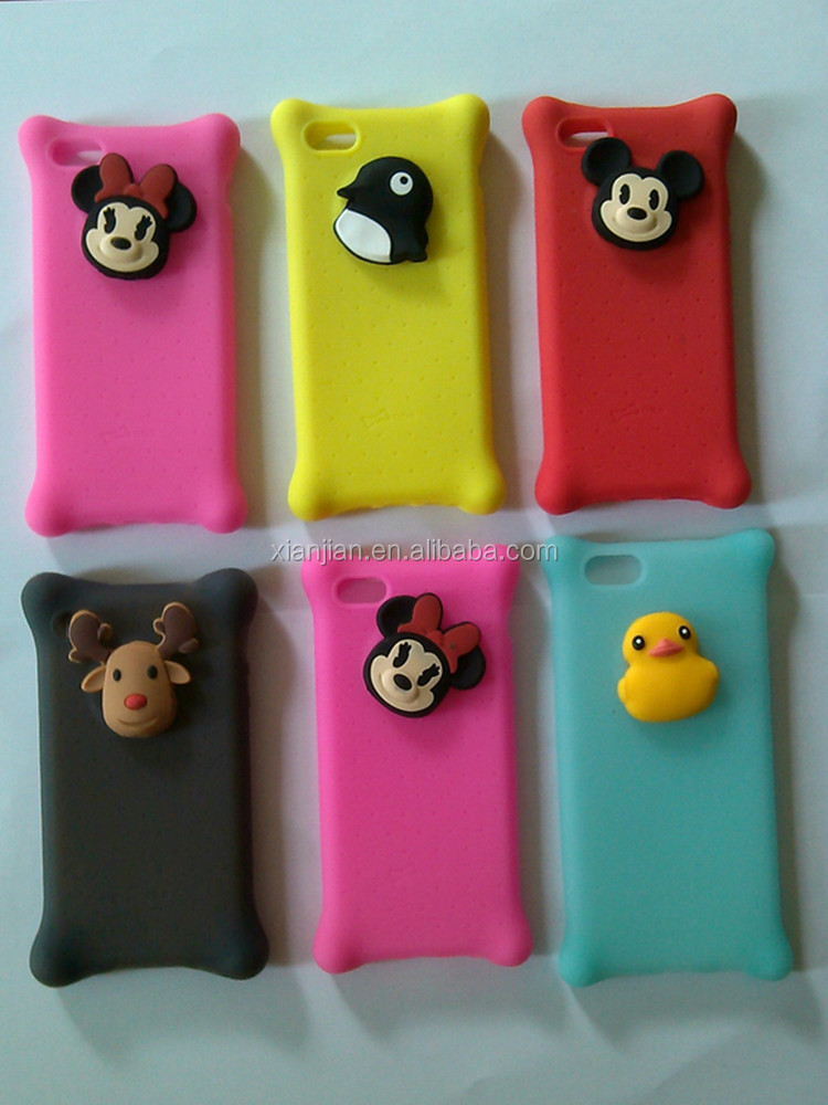 Very Low Price 2016 Custom Made Universal Silicone Mobile phone case for blackberry