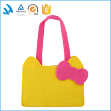 9.75*7.25*5inch Yellow color Insulated Lunch Bag for kid