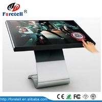 55 Inch Customized Functional Payment Terminal Self Service Ticket Touch Screen Kiosk on sale