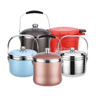 Large energy saving stainless steel soup pot stock pot for cooking soup and stewing meat