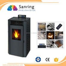 9 kw multi fuel wood pellet stove for apartment heating