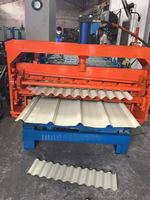 High stable performance galvanise sheets roll forming machines