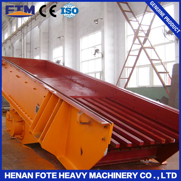 mining vibrating hopper feeder / construction materials vibrating feeder China PK Brand hanging and seated type motor