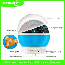 hot selling baby night light sky star projector flashing colored led star projector