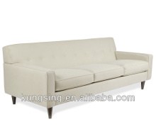 upholstered sleek lounge sofa