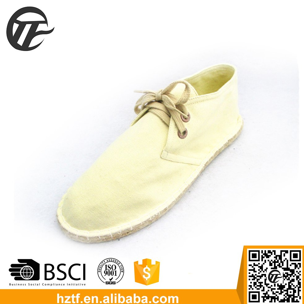 Alibaba golden supplier hot Sale espadrilles shoes men