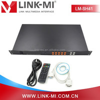 LM-SH41 4 By 1 USB+CVBS+VGA+HDMI Video Quad Screen Multiviewer With Strong Data Processing Ability