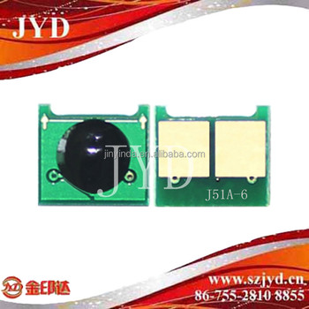 JYD-J51A-B universal chip compatible for CF279A CRG039I 364A 390A 81A 55A 80A 05A CE314A LBP351i/251dw MF512/623/411 Toner chip