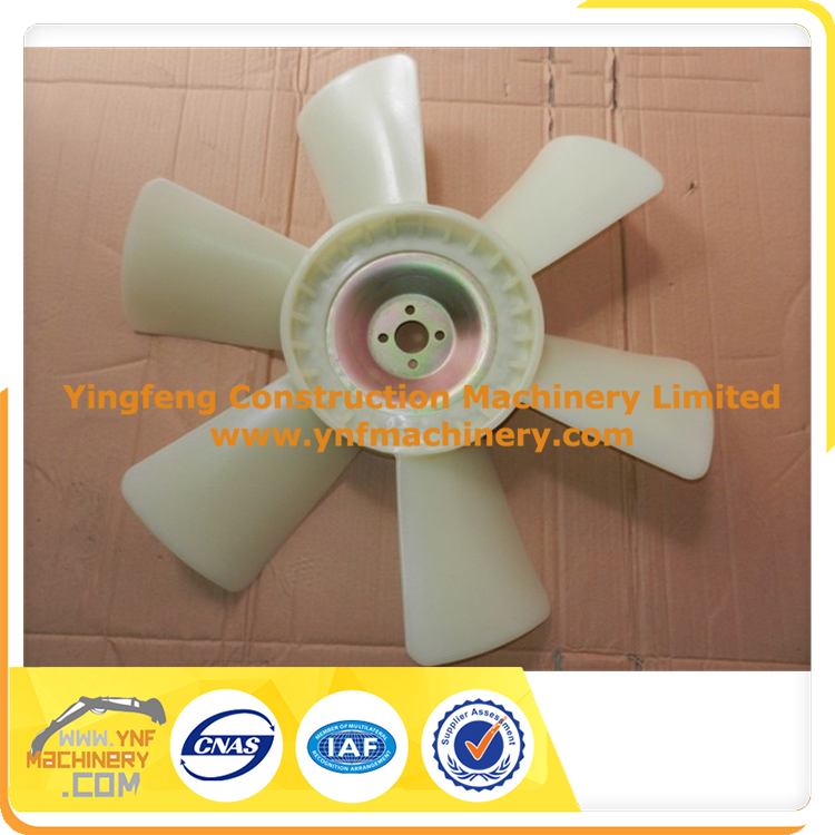 Diesel Engine Excavator 6BG1 engine Cooling fan